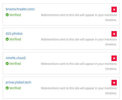 X-Site Webmentions
